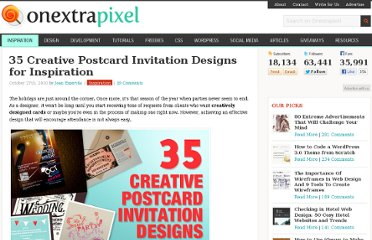 http://www.onextrapixel.com/2010/10/27/35-creative-postcard-invitation-designs-for-inspiration/