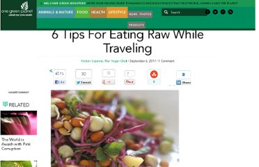 http://www.onegreenplanet.org/lifestyle/6-tips-for-eating-raw-while-traveling/