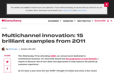 http://econsultancy.com/blog/8126-multichannel-innovation-15-brilliant-examples-from-2011