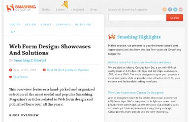 http://www.smashingmagazine.com/web-form-design-showcases-and-solutions/
