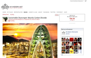 http://www.mymodernmet.com/profiles/blogs/sustainable-skyscraper-absorbs-carbon-dioxide