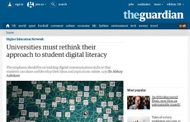 http://www.guardian.co.uk/higher-education-network/higher-education-network-blog/2011/oct/10/digital-literacy-collaboration
