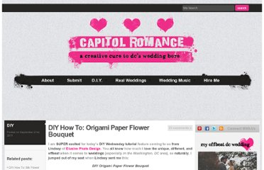 http://www.capitolromance.com/2011/09/21/diy-how-to-origami-paper-flower-bouquet/