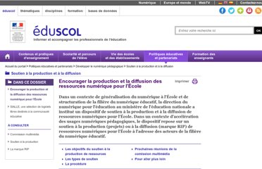 http://eduscol.education.fr/cid56176/encourager-la-qualite-des-ressources-multimedias-educatives.html