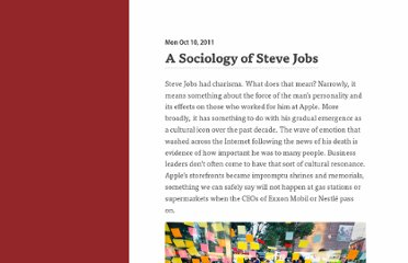 http://kieranhealy.org//blog/archives/2011/10/10/a-sociology-of-steve-jobs/