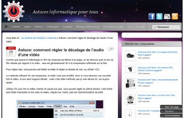 http://pandoon.info/astuce-comment-regler-decalage-audio-video/