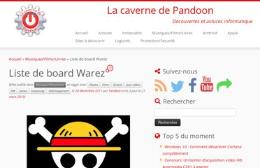 http://pandoon.info/liste-board-warez/