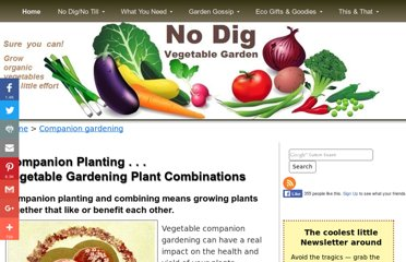 http://www.no-dig-vegetablegarden.com/companion-planting.html