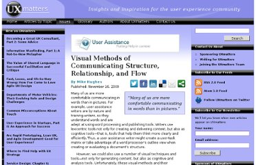 http://www.uxmatters.com/mt/archives/2009/11/visual-methods-of-communicating-structure-relationship-and-flow.php