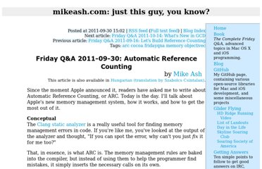 http://www.mikeash.com/pyblog/friday-qa-2011-09-30-automatic-reference-counting.html