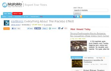 http://www.mayomo.com/100308-everything-about-the-placebo-effect