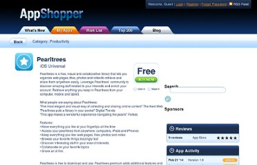 http://appshopper.com/productivity/pearltrees-for-ipad