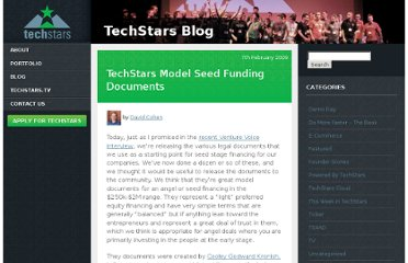 http://www.techstars.com/techstars-model-seed-funding-documents/