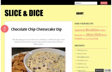 http://newtoveggieworld.wordpress.com/2011/10/06/chocolate-chip-cheesecake-dip/
