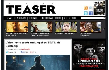 http://www.cinemateaser.com/2011/10/34587-video-trois-courts-making-of-du-tintin-de-spielberg