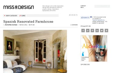 http://www.miss-design.com/interior/spanish-renovated-farmhouse.html
