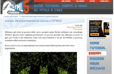 http://www.html5today.it/esempi/wormz-esperimento-canvas-html5