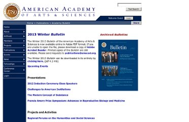 http://www.amacad.org/publications/bulletin.aspx