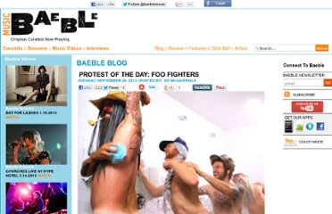 http://www.baeblemusic.com/musicblog/9-20-2011/Protest-Of-The-Day--Foo-Fighters.html