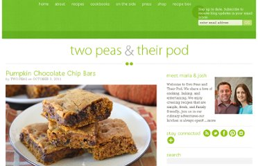http://www.twopeasandtheirpod.com/pumpkin-chocolate-chip-bars/