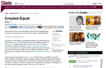http://www.slate.com/articles/health_and_science/human_nature/features/2007/created_equal/liberalcreationism.html