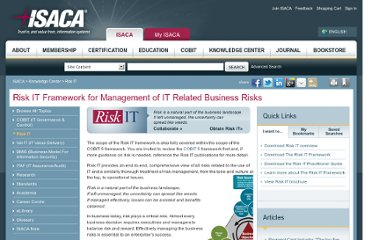 http://www.isaca.org/Knowledge-Center/Risk-IT-IT-Risk-Management/Pages/Risk-IT1.aspx