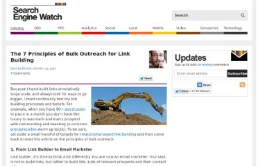 http://searchenginewatch.com/article/2116454/The-7-Principles-of-Bulk-Outreach-for-Link-Building