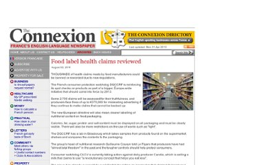http://www.connexionfrance.com/food-label-health-claims-france-consumer-watchdog-european-regulations-view-article.html