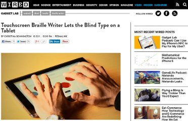 http://www.wired.com/gadgetlab/2011/10/touchscreen-braille-writer/