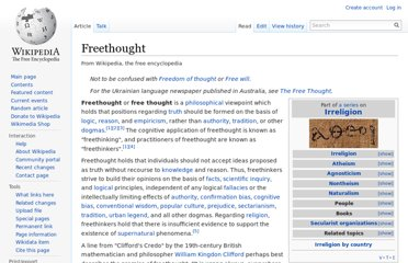 http://en.wikipedia.org/wiki/Freethought