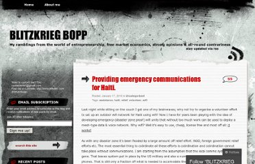 http://evertb.wordpress.com/2010/01/17/providing-emergency-communications-for-haiti/