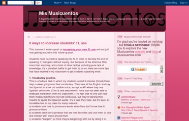 http://musicuentos.blogspot.com/2010/12/9-ways-to-increase-students-tl-use.html