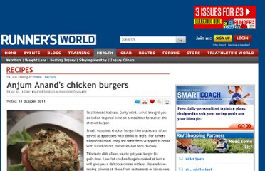 http://www.runnersworld.co.uk/recipes/anjum-anands-chicken-burgers/7435.html