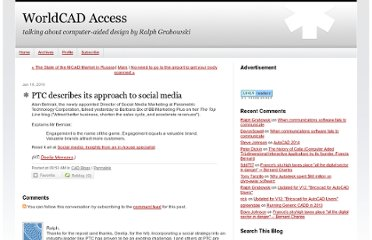 http://worldcadaccess.typepad.com/blog/2010/01/ptc-describes-its-approach-to-social-media.html