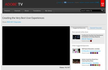http://tv.adobe.com/watch/max-2011-keynotes/creating-the-very-best-user-experiences/
