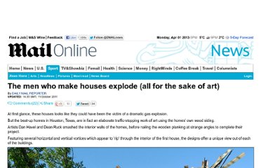 http://www.dailymail.co.uk/news/article-2047445/The-men-make-houses-explode-sake-art.html