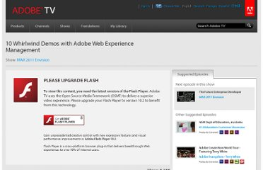 http://tv.adobe.com/watch/max-2011-envision/10-whirlwind-demos-with-adobe-web-experience-management/