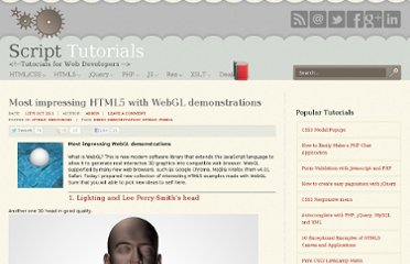 http://www.script-tutorials.com/most-impressing-html5-with-webgl-demonstrations/
