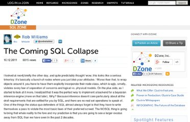 http://java.dzone.com/articles/coming-sql-collapse