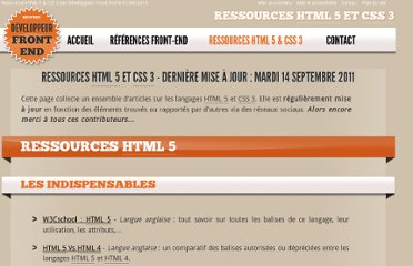 http://www.developpeur-front-end.fr/ressources-html5-css3.html