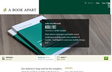 http://www.abookapart.com/products/mobile-first