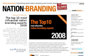 http://nation-branding.info/2008/12/31/10-most-influential-nation-branding-experts-200/