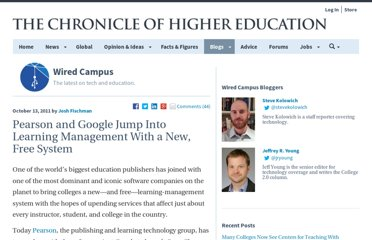 http://chronicle.com/blogs/wiredcampus/pearson-and-google-jump-into-learning-management-systems/33636