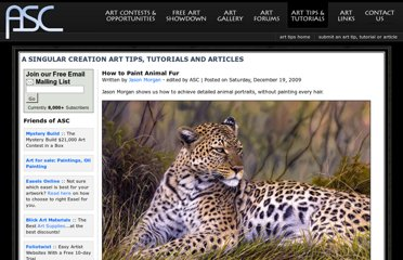 http://www.asingularcreation.com/articles/how-to-paint-animal-fur.htm
