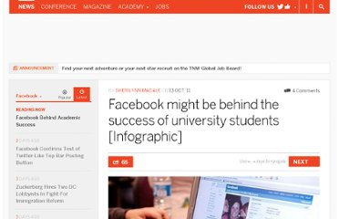 http://thenextweb.com/facebook/2011/10/13/facebook-might-be-behind-the-success-of-university-students-infographic/