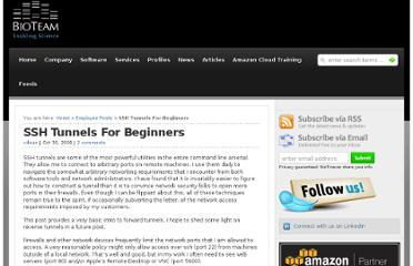http://bioteam.net/2009/10/ssh-tunnels-for-beginners/
