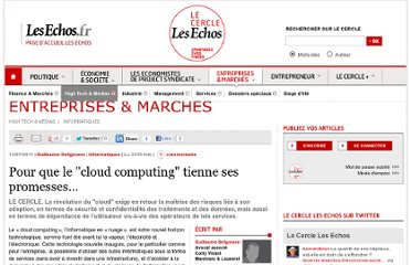 http://lecercle.lesechos.fr/entreprises-marches/high-tech-medias/informatiques/221136440/cloud-computing-tienne-promesses