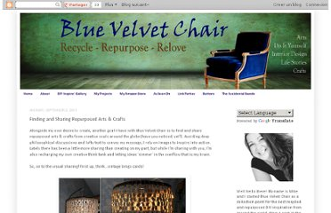 http://bluevelvetchair.blogspot.com/2011/09/finding-and-sharing-repurposed-arts.html