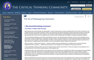 http://www.criticalthinking.org/pages/the-art-of-redesigning-instruction/520