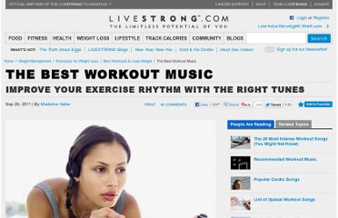 http://www.livestrong.com/article/545184-the-best-workout-music/